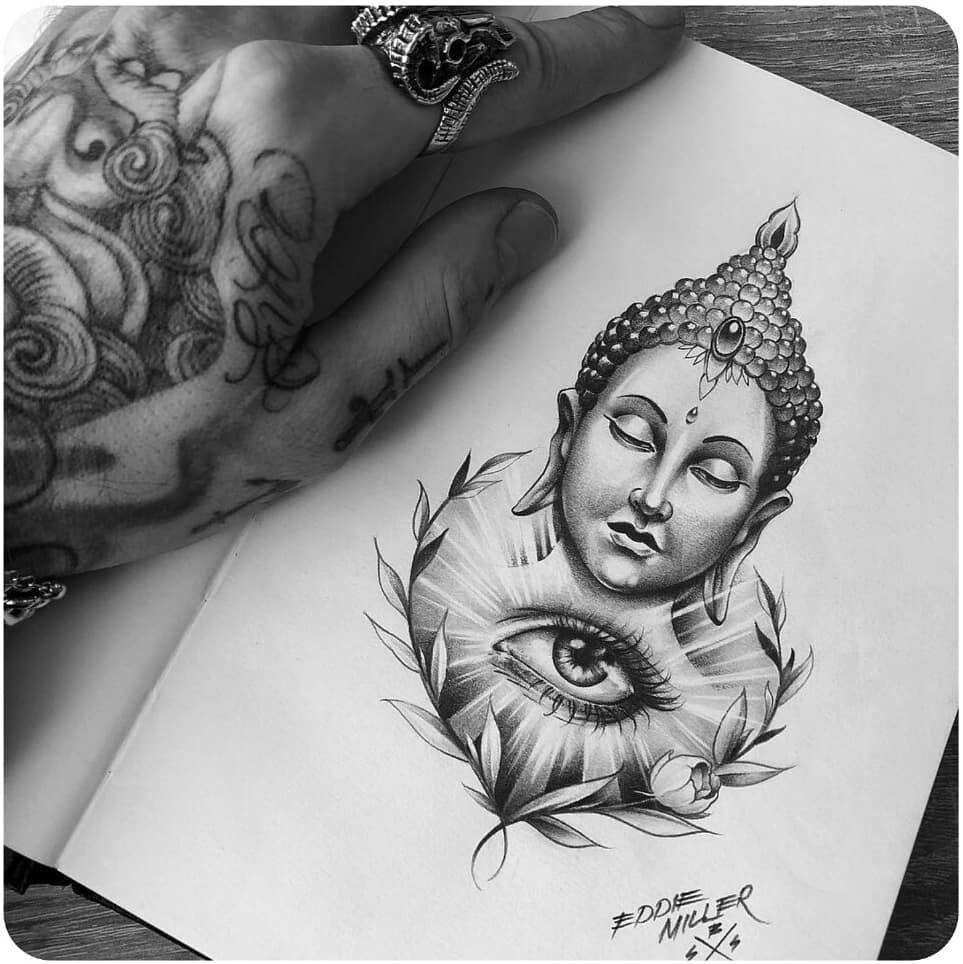 250 Gautama Buddha Tattoo Designs And Meanings