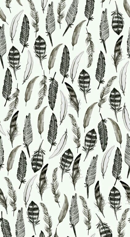 wallpaper, feather, and background afbeelding