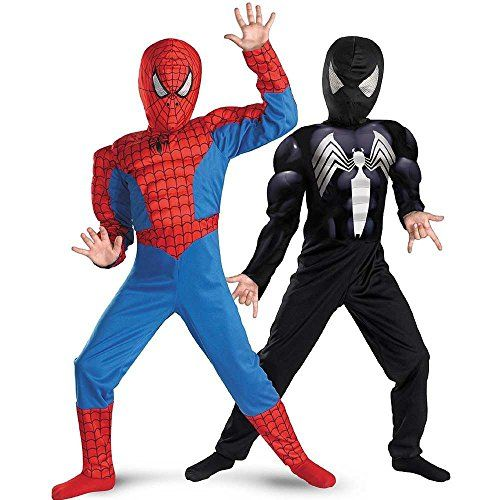disguise marvel spider man reversible spiderman boys costume spiderman costumes halloween