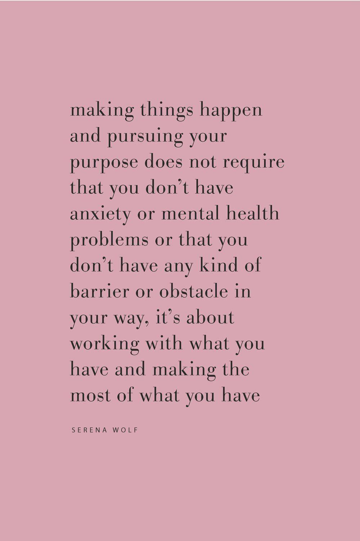 ... pursuing your purpose | quotes