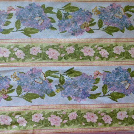 Cotton Fabric , Quilt Fabric, Home Decor, Floral, Hydrangea Radiance, Wilmington Prints, Fast Shipping https://www.etsy.com/shop/suesfabricnsupplies