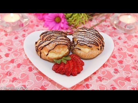 Cream Puffs (Banh Choux/Banh Su Kem/Choux à la Crème) - YouTube