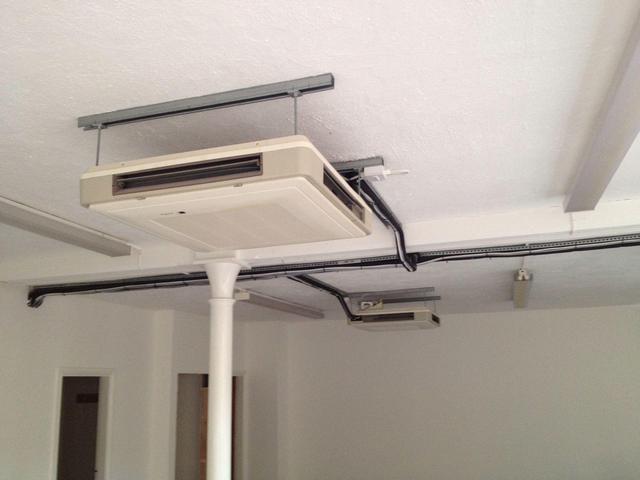 Daikin UnderCeiling Suspended air conditioning installed