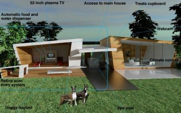 The World S Most Expensive Kennel With Images Luxury Dog House