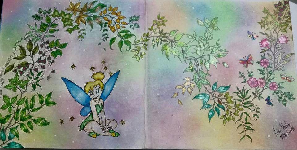 Johanna Basford Secret Gardens Colouring Leaves Garden Wave