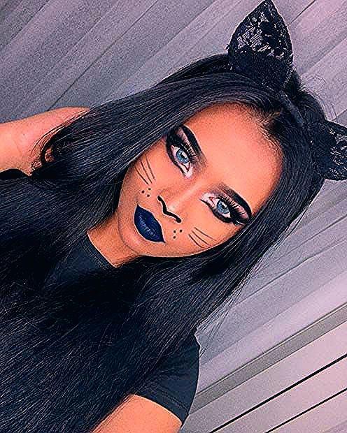 Photo of 41 Easy Cat Makeup-Ideen für Halloween | Seite 3 von 4 | StayGlam