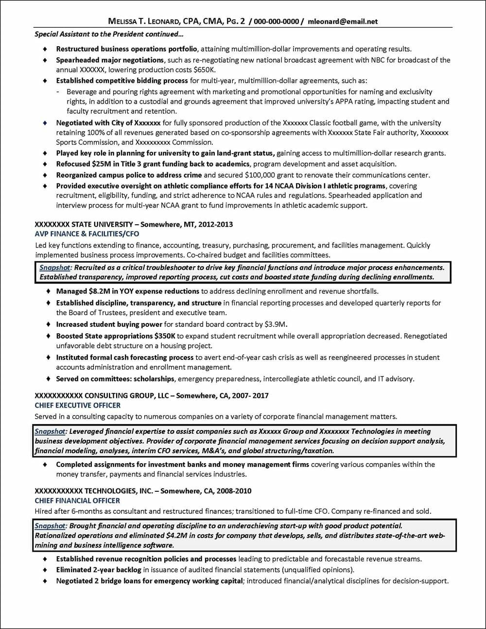 C Level Resume Samples 5 Templates Example Templates Example Resume Resume Template Executive Resume Template