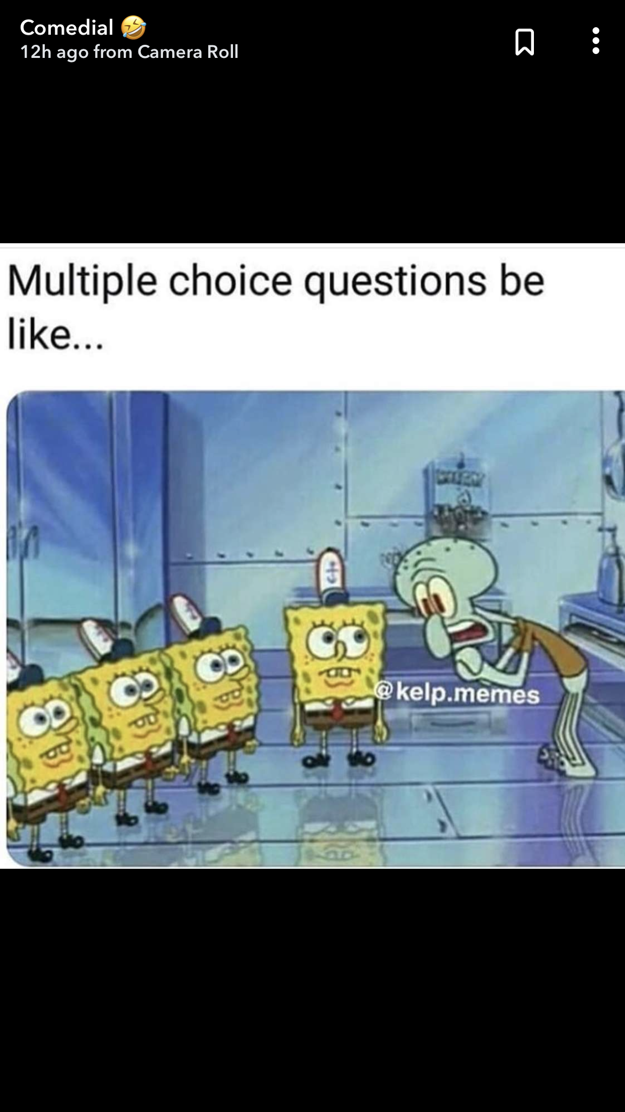 School Power Outage Meme