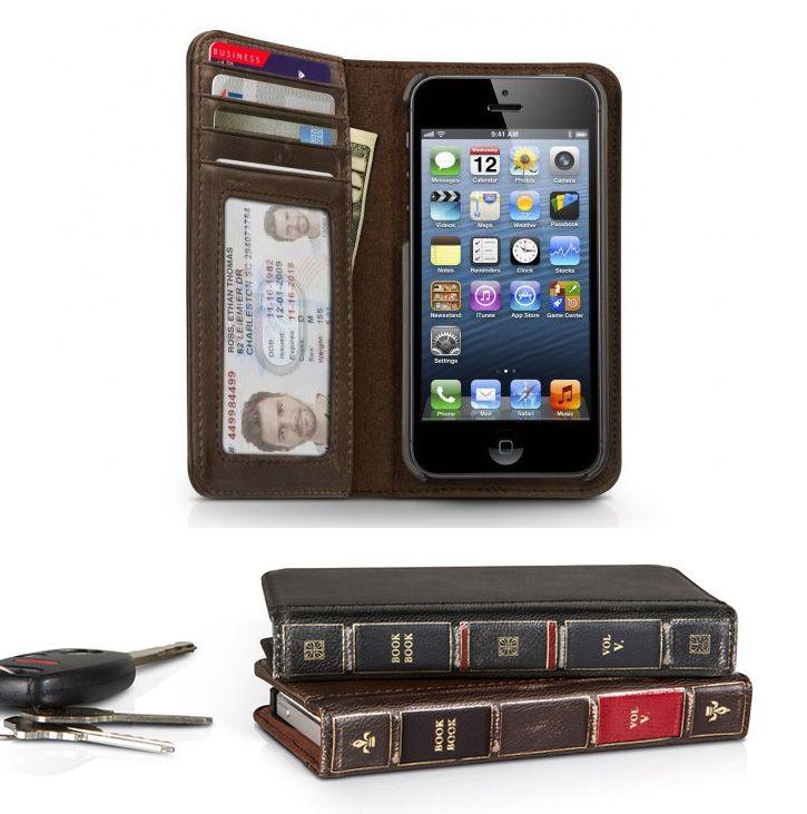 Book book iPhone 5 case. Funda Book book para iPhone 5.