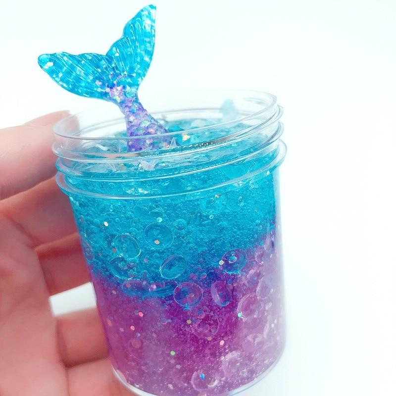 ~ Birthday Party Supplies Favors Toys Summer Sea 12 MERMAID GLITTER OOZE PUTTY