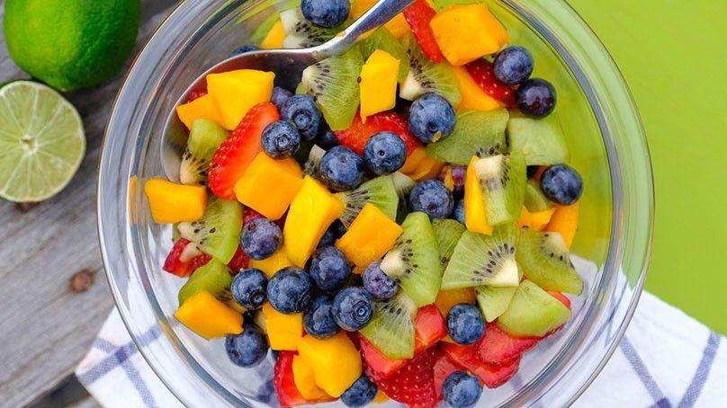 Honey lime fruit salad recipe honey lime fruit salad