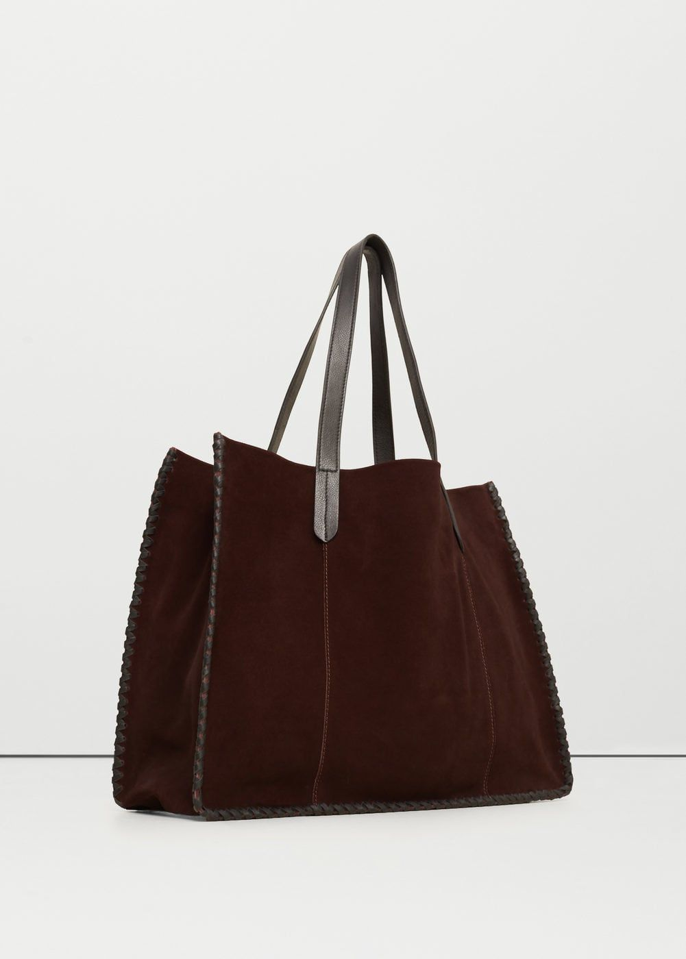 d8d08b06088a Fonott bőr táska - Női | bőr | Bags, Braided leather és Mango bags