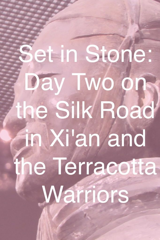 A stopover with the Terracotta Warriors on the journey along the Silk Road.
