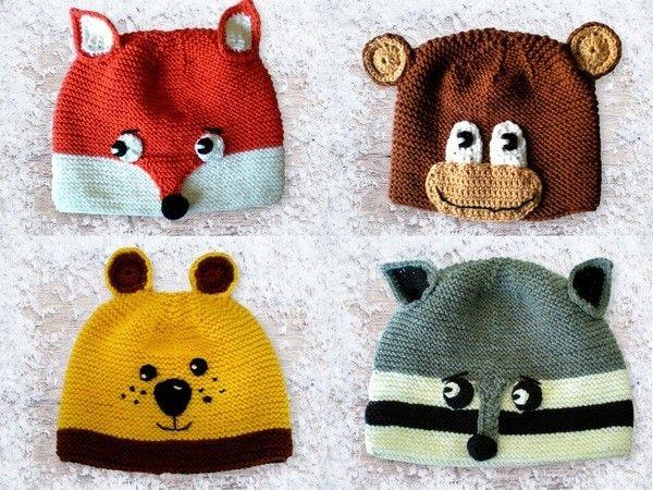 Stricken für die Kleinsten: Tiermützen, Schal, Socken, Decke ...