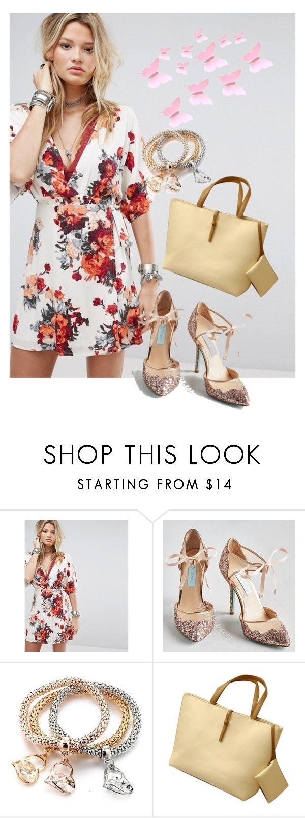 """""""dress"""" by masayuki4499 ❤ liked on Polyvore featuring Honey Punch"""