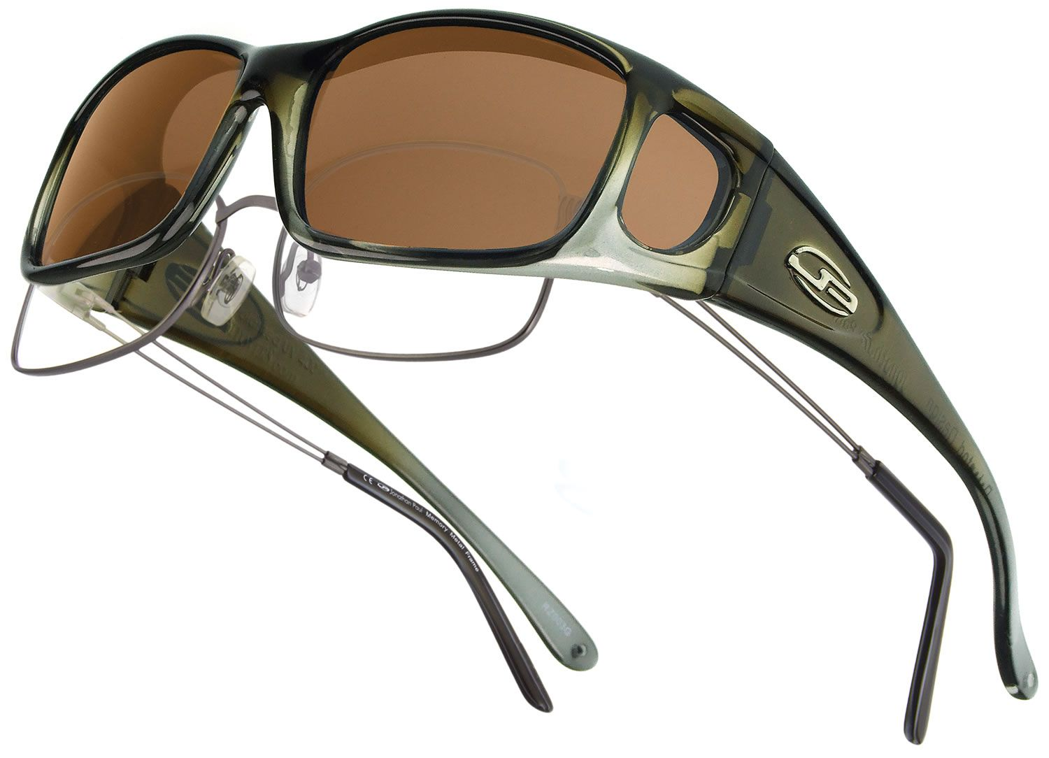 64ef48dda0cc Razor Olive Charcoal Fitovers by Jonathan Paul - high quality TR90  hand-painted frames and durable polycarbonate lenses.