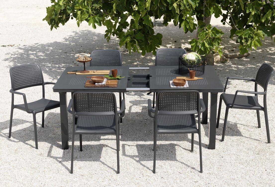 Conjunto de jardín comedor Levante Extensible de Nardi   JARDINTER ...