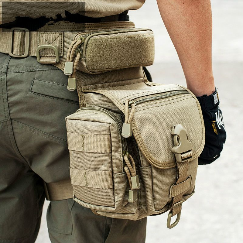 Outdoor Tactical Leg Bag Waist Pack Special Duty Weapons Tactics