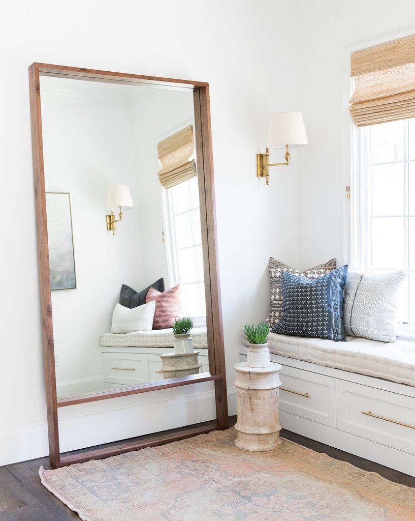 Adler Floor Mirror Walnut Mine In 2019 Home Interior