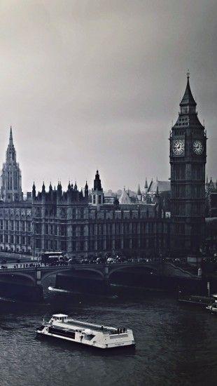 London City Black And White Black White Wallpaper Iphone