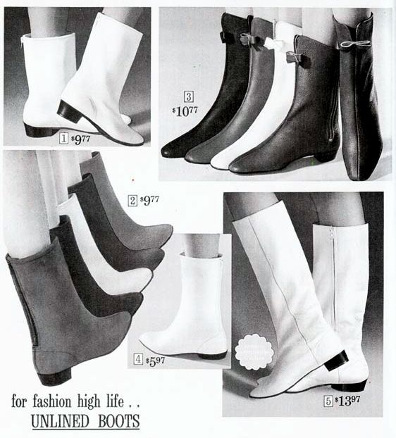 Boots In The Sears Catalog 1965 Boots Boots Tumblr