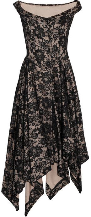 Discount For Cheap Best Store To Get Cheap Price Vivienne Westwood Anglomania asymmetric lace dress Free Shipping Low Price Cheap For Nice New Fashion Style Of ylmU461L