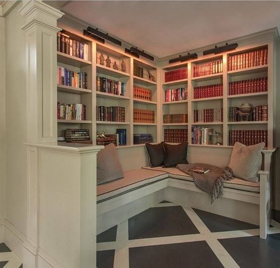 Cozy Luxury Homes Interior Gallery: Shelves & Reading Nooks