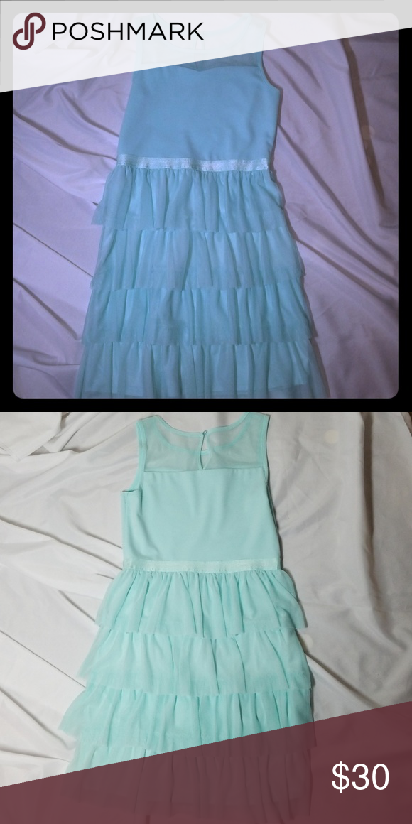 Sally Miller Mint green Girl's xl (14-16) Dress Preowned. No damages to the best of my visible knowledge. in great condition.Preowned from a smoke-free home. Please feel free to contact me regarding questions or concerns for this item. ????I accept reasonable offers!????.  ????PLEASE DON'T LOW BALL ME????  Thank you ????Happy Poshing ???? Sally Miller Dresses #sallymiller