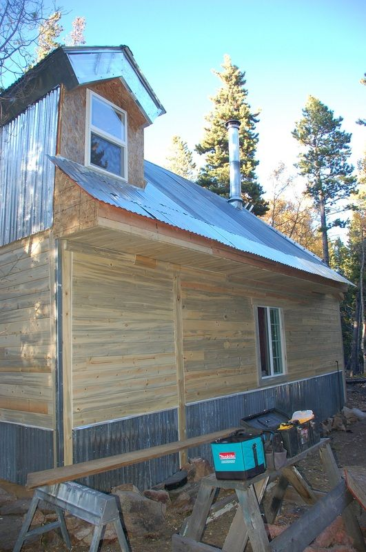 Blue Stain Pine Outdoor Siding Tiny House Exterior Outdoor