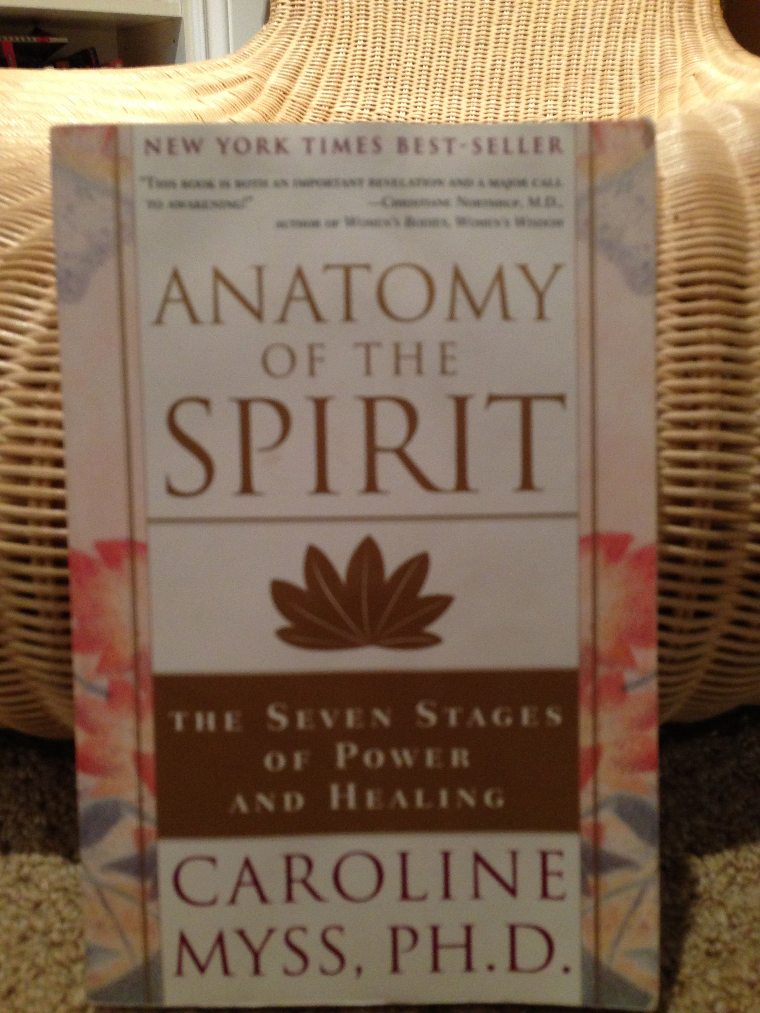 Books I Love Anatomy Of The Spirit A Beautiful Guide To Spiritual