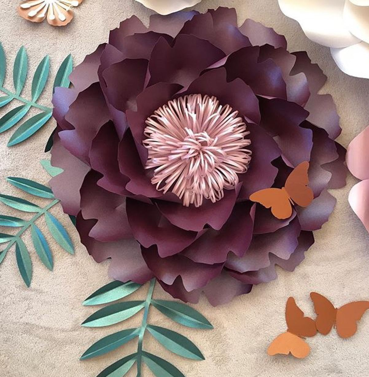 Pin by Kaz Ripper on Handmade Paper Flowers  Pinterest  Handmade