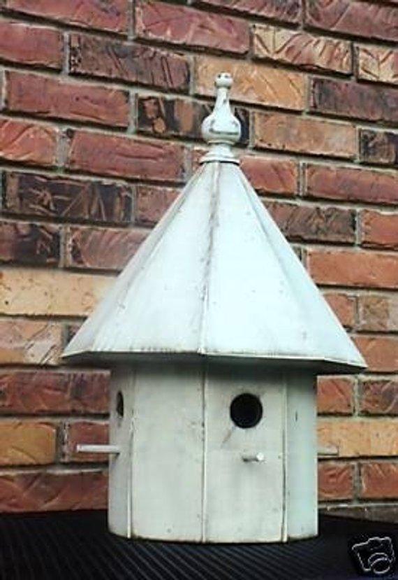 Octagon Birdhouse Pattern Etsy In 2021 Bird House Kits Wood Birdhouses Houses