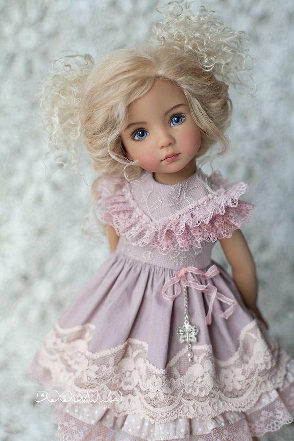результате вместо нарядное платье для куклы фото настолько очаровал
