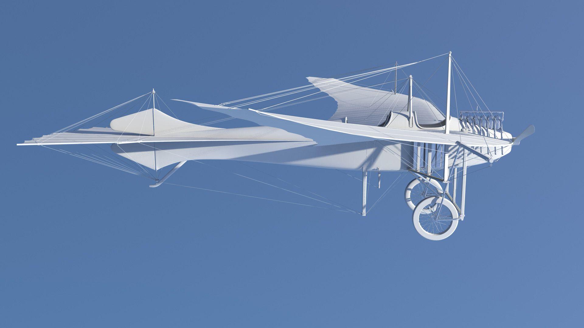 Taube airplane d x d model dmodeling pinterest