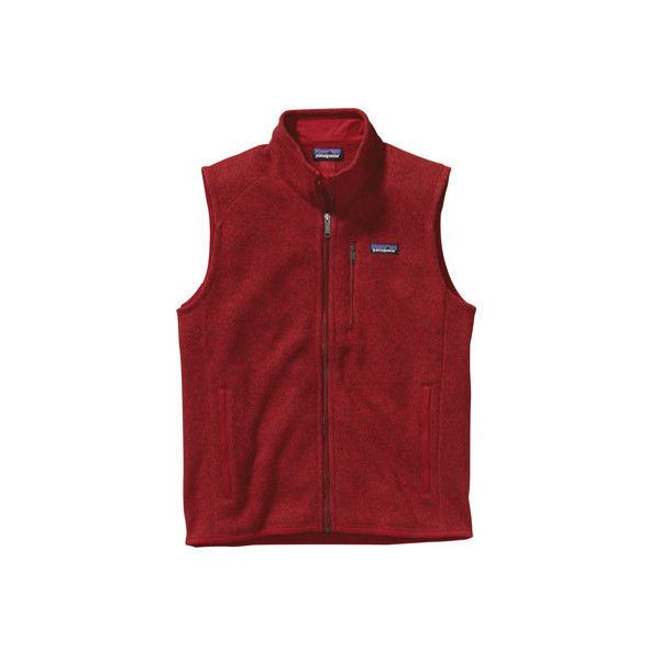 Men's Patagonia Better Sweater Vest ($99) ❤ liked on Polyvore ...