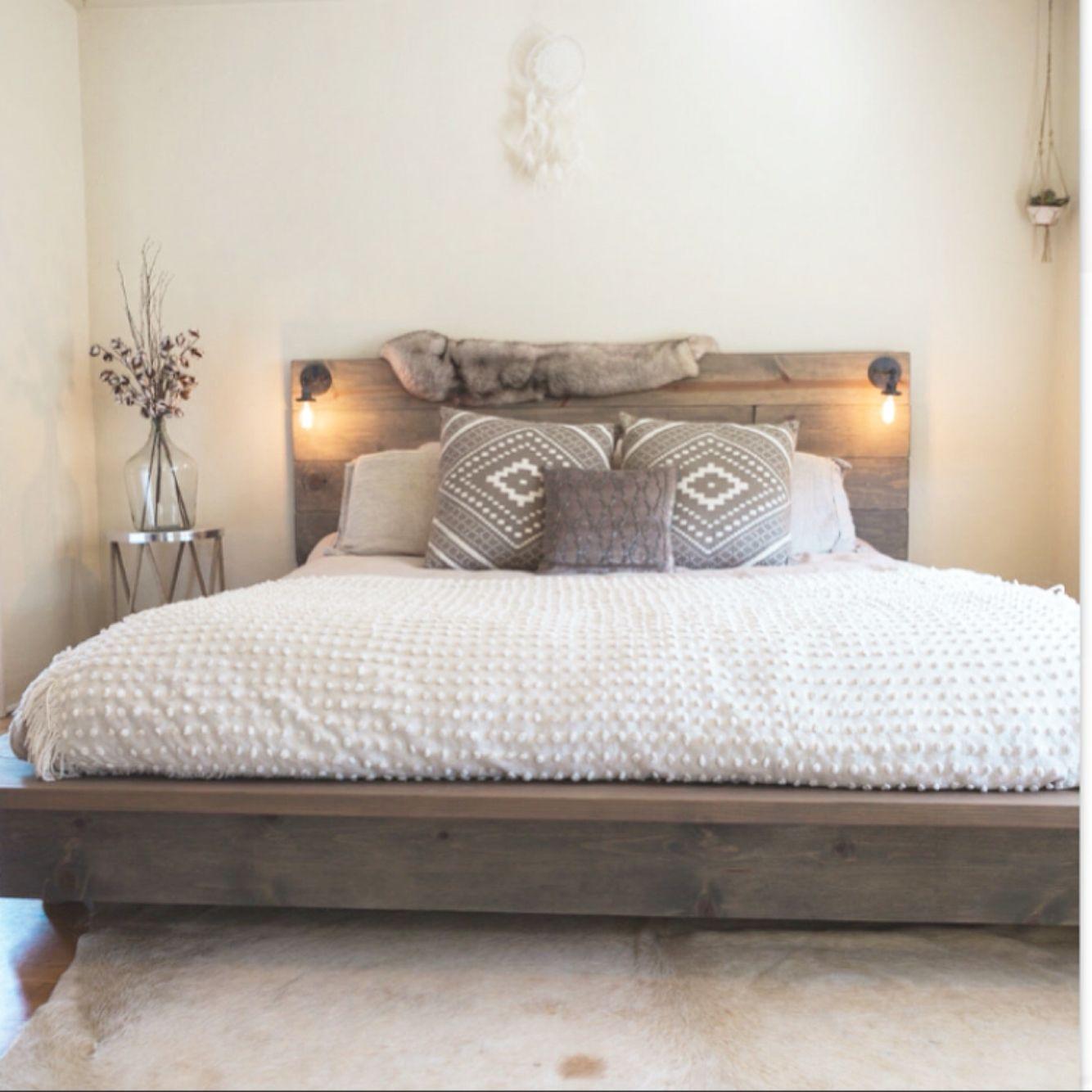 Floating Wood Bed Wood Bed Frame Wood Platform Bed Frame