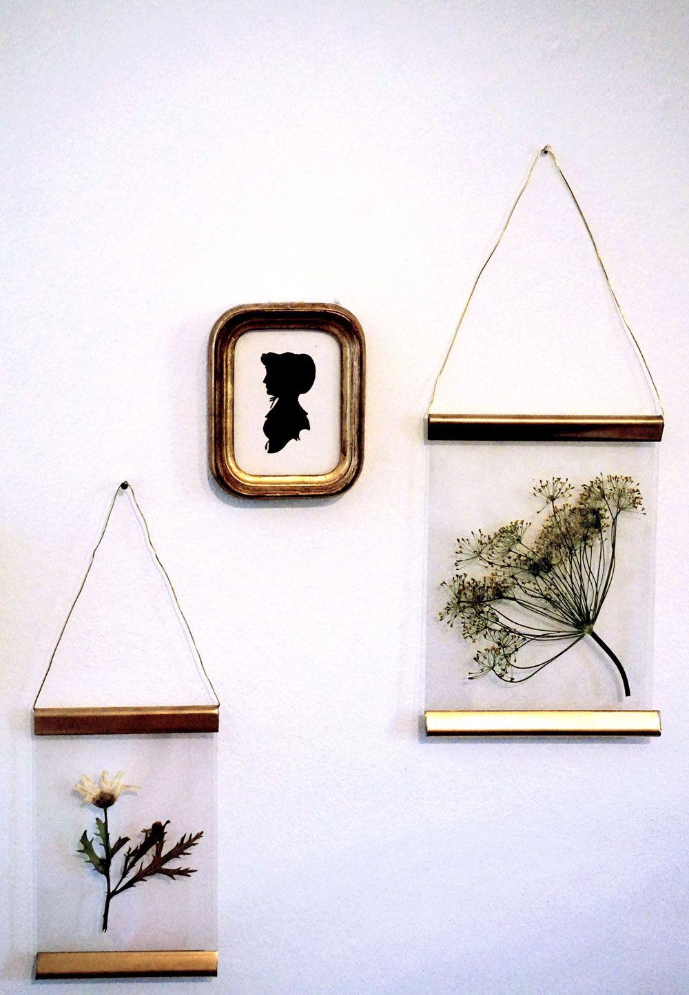 diy vintage bilderrahmen in gold oder kupfer corridor and diy christmas. Black Bedroom Furniture Sets. Home Design Ideas