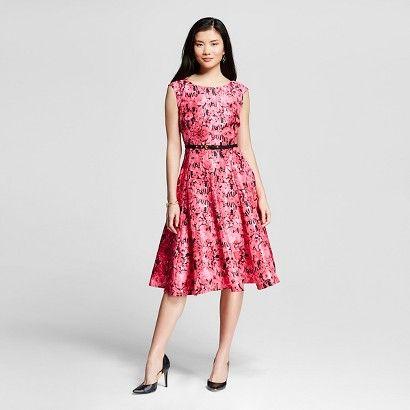 d67ee3081c1 Women s Floral Printed Midi Dress w  Belt - Melonie T