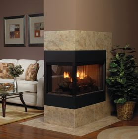 American Hearth Multi Sided Log Sets And Burners Double Sided