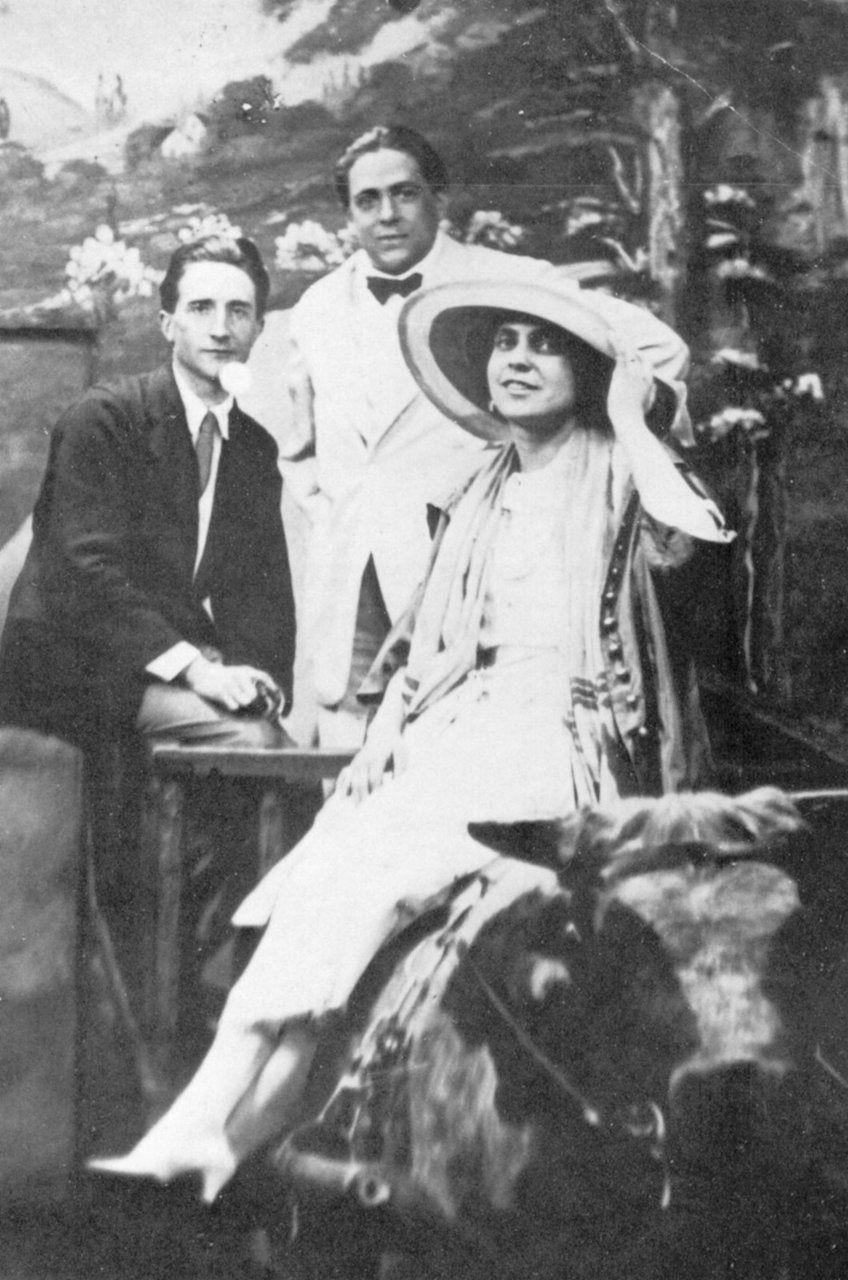 Резултат слика за beatrice, duchamp and picabia 1917.