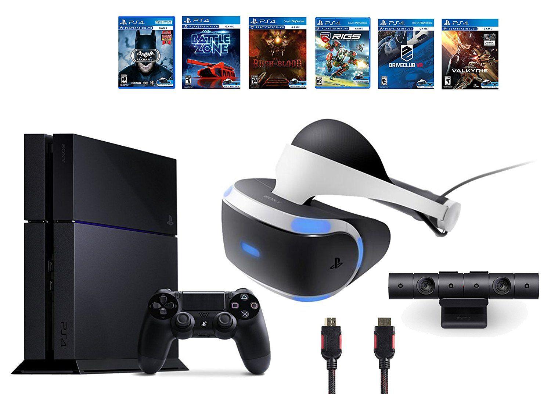 PlayStation VR Bundle 9 ItemsVR Headset,Playstation