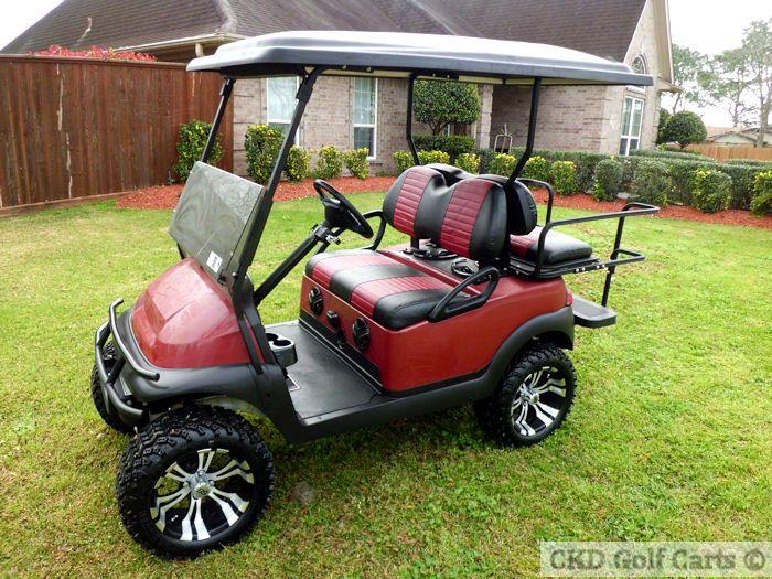 Custom Club Car Golf Carts