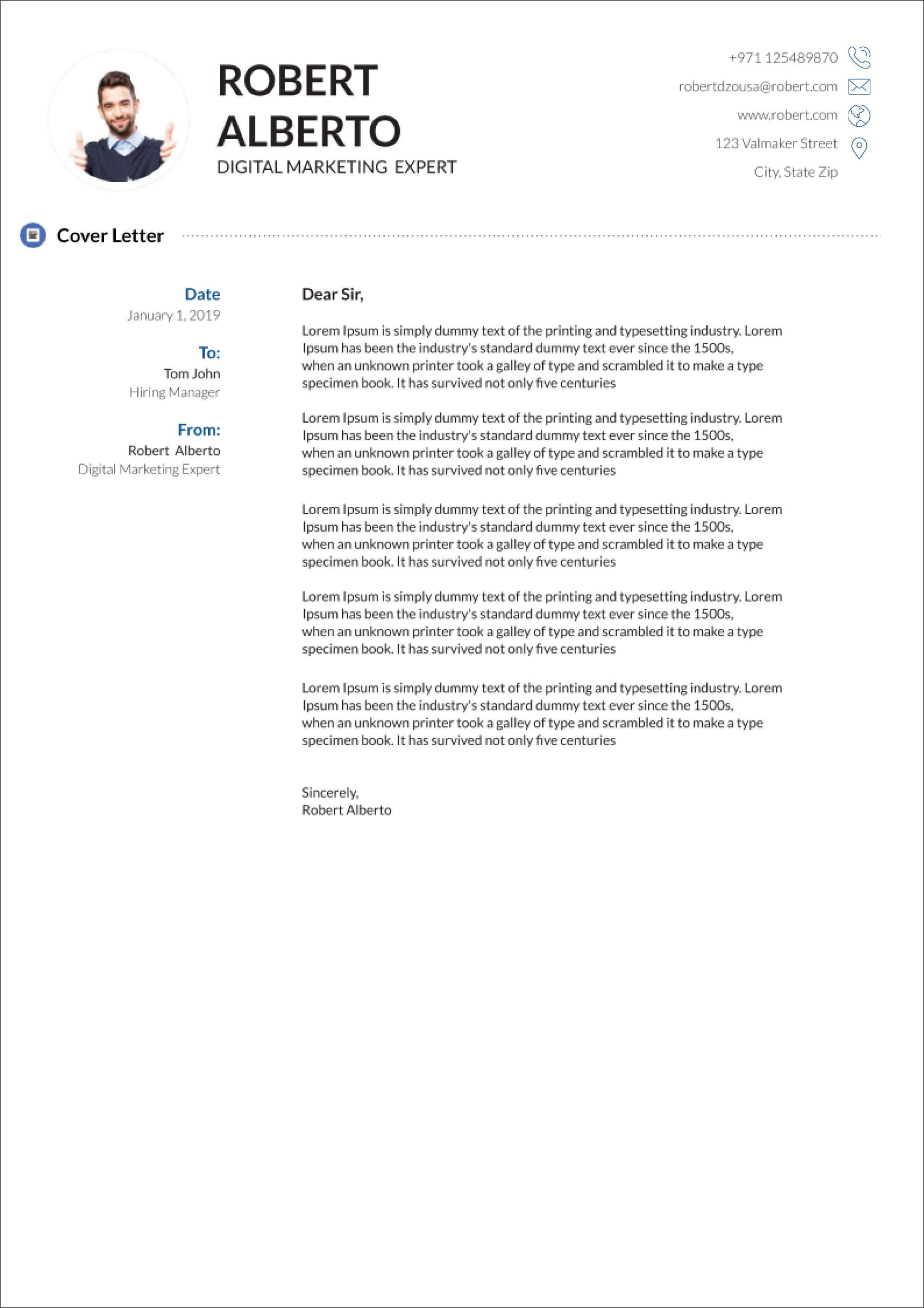 Cover Letter Template On Google Docs Five Advantages Of