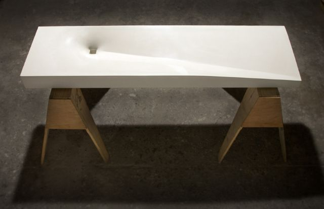 Vertigo Fabric Formed Concrete Sink 2 | Objects | Pinterest ...