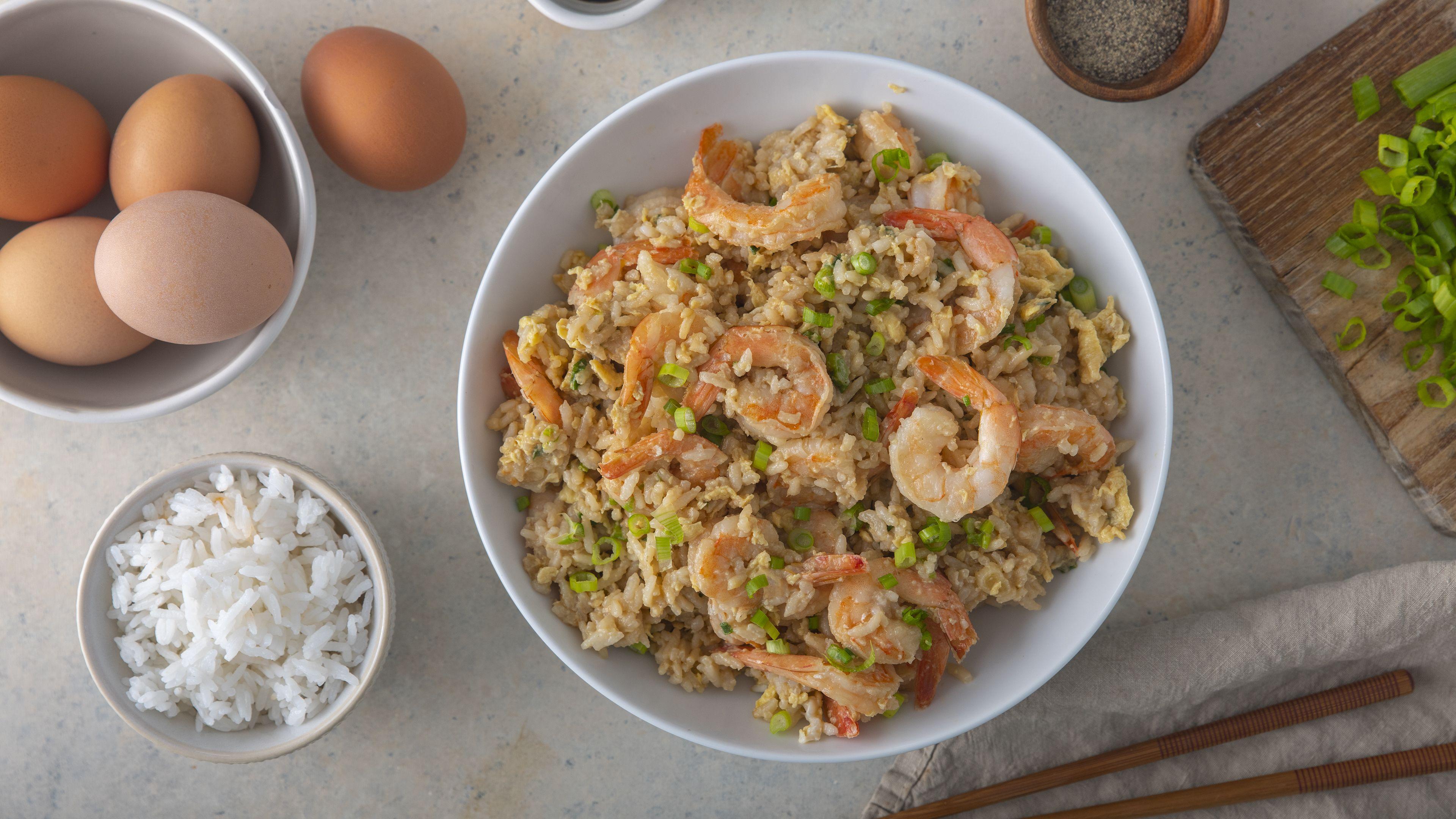 Shrimp Fried Rice Recipe Fried Rice Best Chinese Food Shrimp