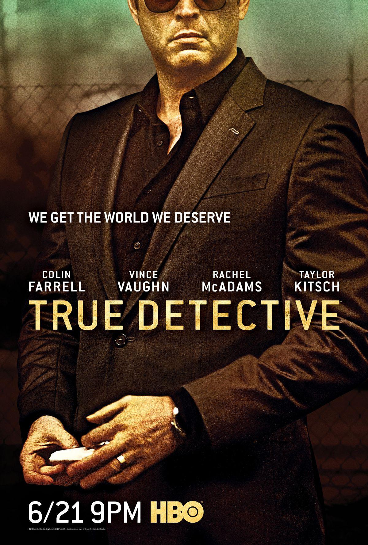 true detective season 2 vince vaughn poster