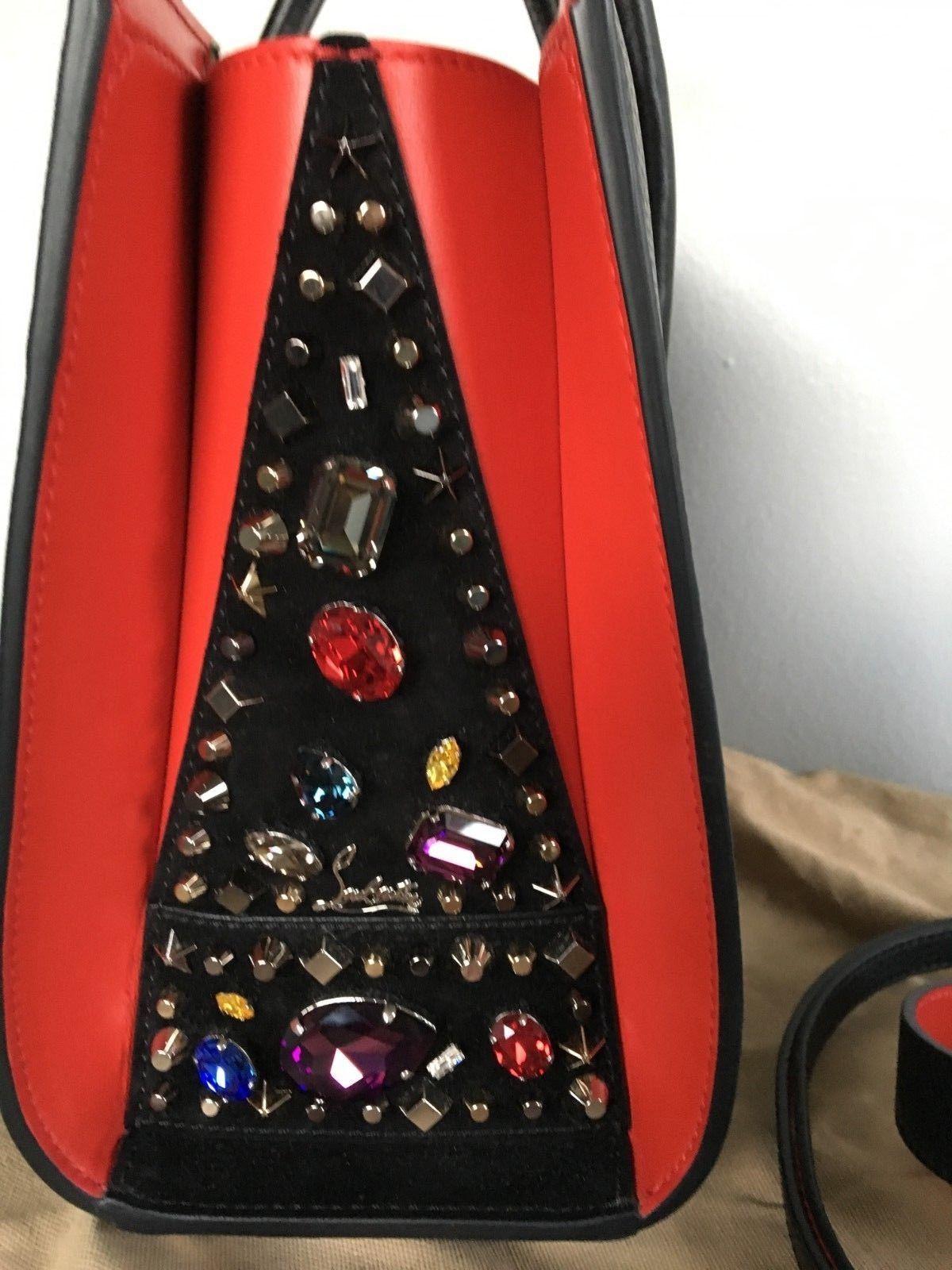 cf3e4878463 Christian Louboutin Handbag Paloma Small Love Embroidered Suede Tote Bag   1900.0  christian  louboutin  handbag
