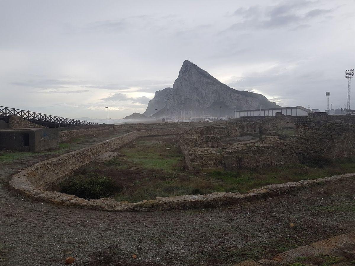 fuerte de Santa Barbara en La Línea de la Concepción