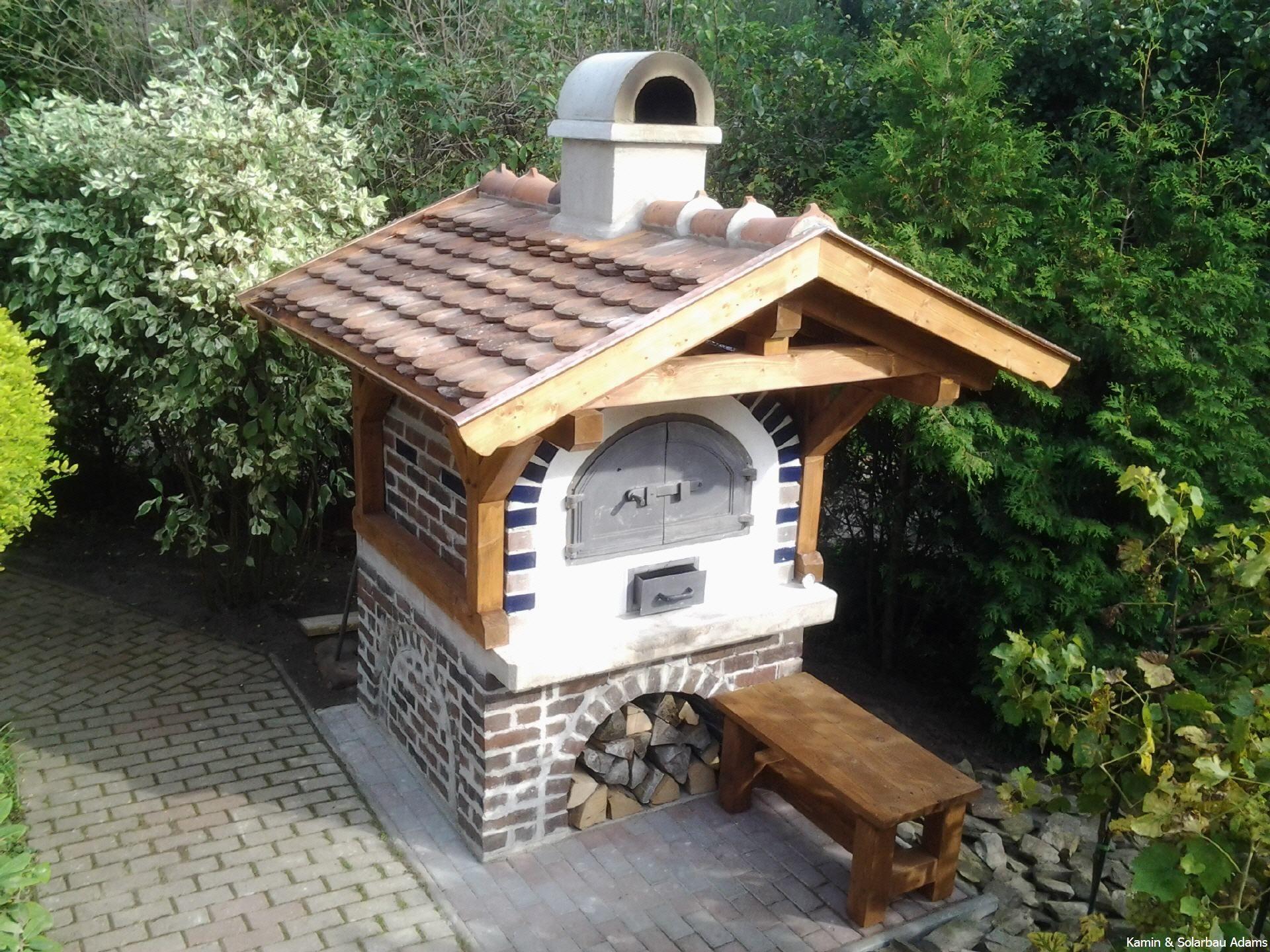 Steinbackofen Steinbacköfen Backofen | Cooles | Pinterest Holzofen Im Garten Grill Pizzaofen Kamin