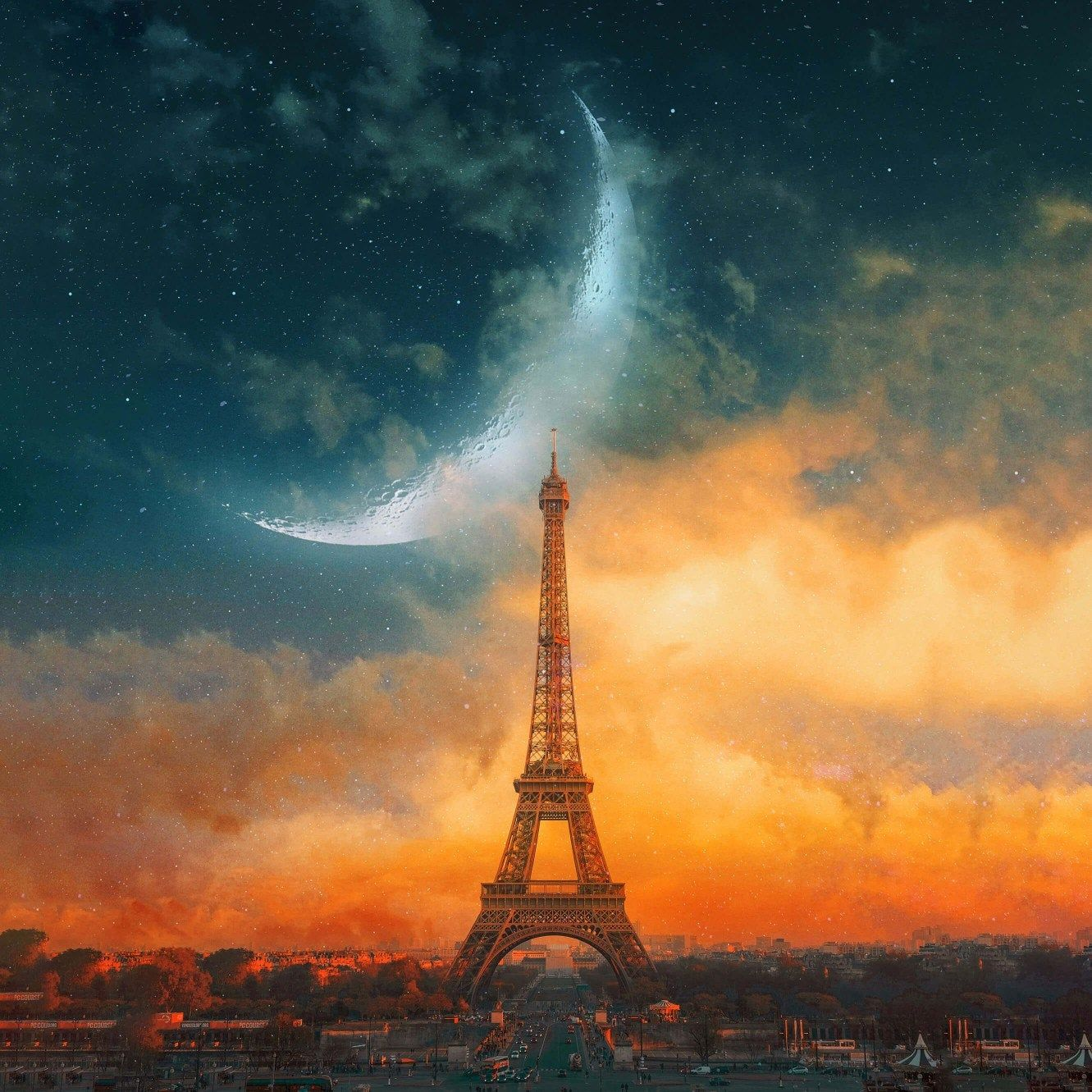 I M Offering A Discount Eiffel Tower Painting Eiffel Tower Paris Wallpaper